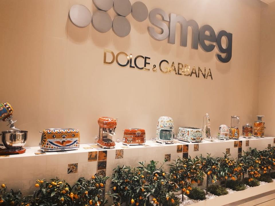 Бытовая техника SMEG на выставке в Италии