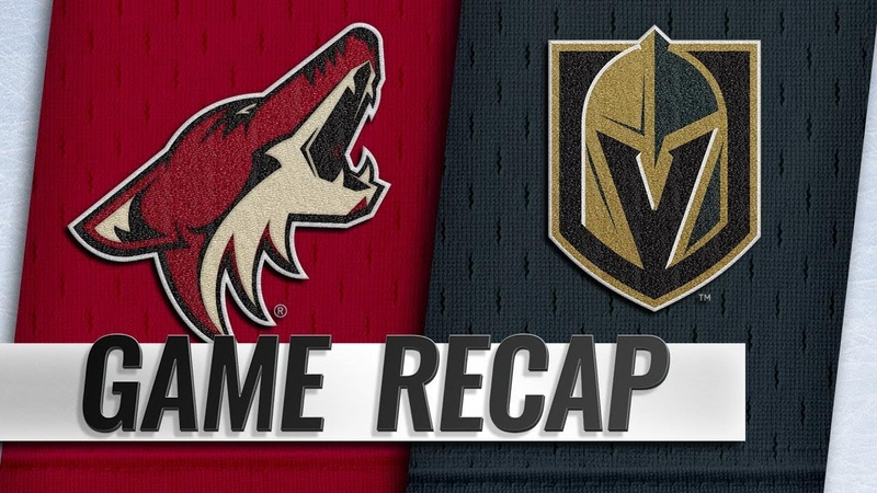 Panik, Cousins pace Coyotes to 5-2 win in Las Vegas