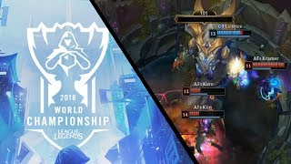 C9 epic Baron steal [2018 World Championship] | League of Legends