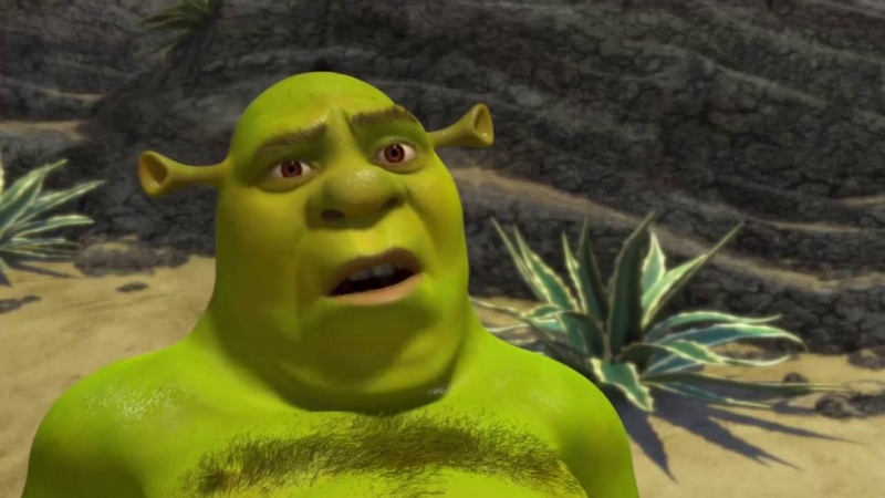SHREK IS CUMING. PORN TWO