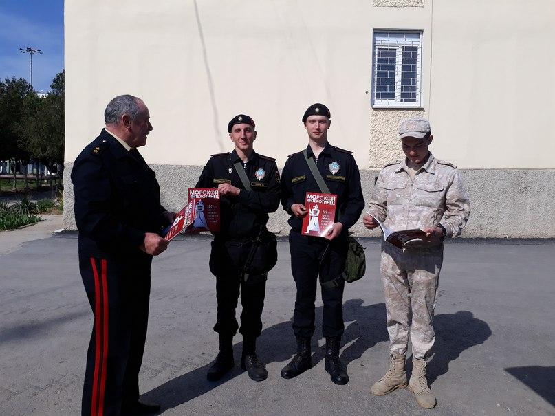 Генерал-лейтенанта Шилов посетил  810-ю бригаду морской пехоты