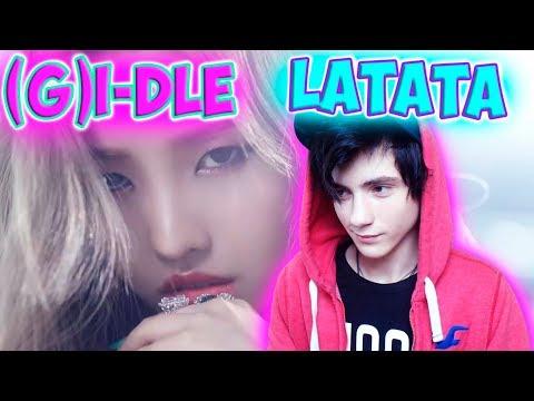 [MV] (G)I-DLE ((여자)아이들) _ LATATA Реакция   1theK (원더케이)   Реакция на (G)I-DLE LATATA