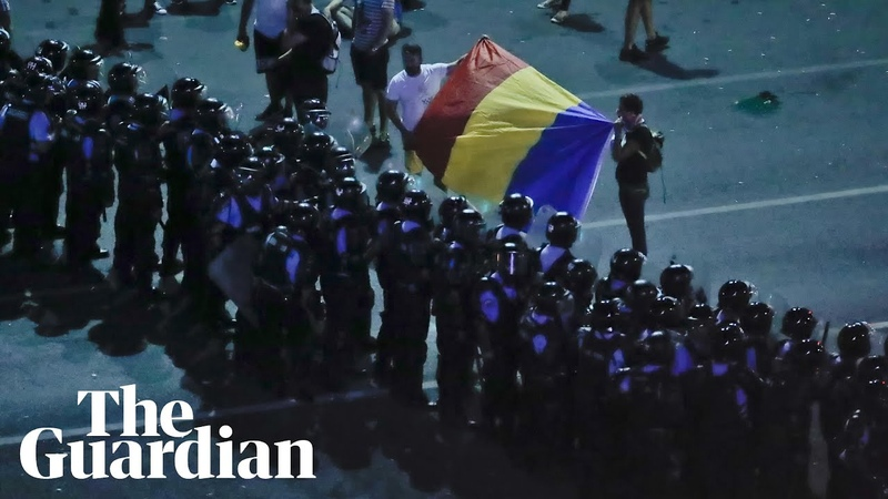 Hundreds injured during Romania protests
