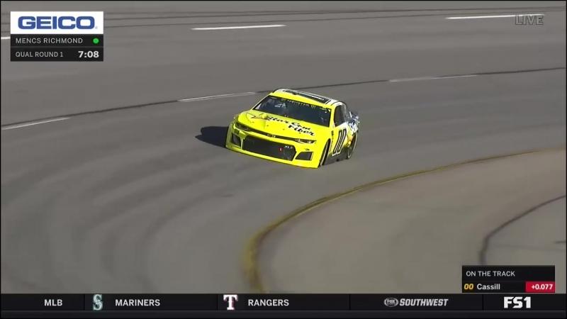 2018 NASCAR Monster Cup - Round 09 - Richmond - Квалификация