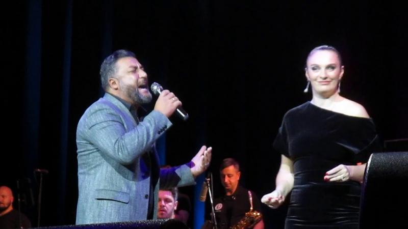 Елена Ваенга и Ачи Пурцеладзе Ре ля Екатеринбург 22 10 2018г