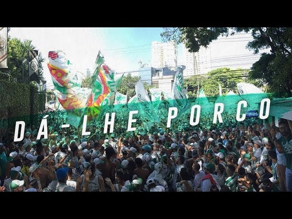 TORCIDA DO PALMEIRAS FAZ FESTA ANTES DA FINAL