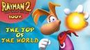 Rayman 2 The Great Escape Все лумы и клетки Вершина мира