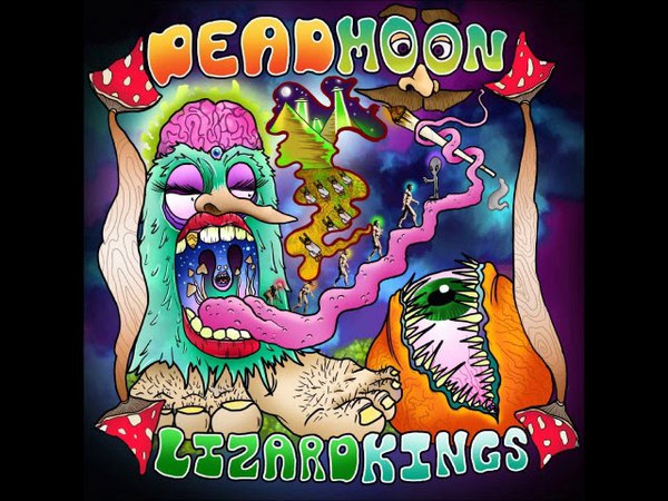 Dead Moon Lizard Kings - Dead Moon Lizard Kings (Full Album 2018)
