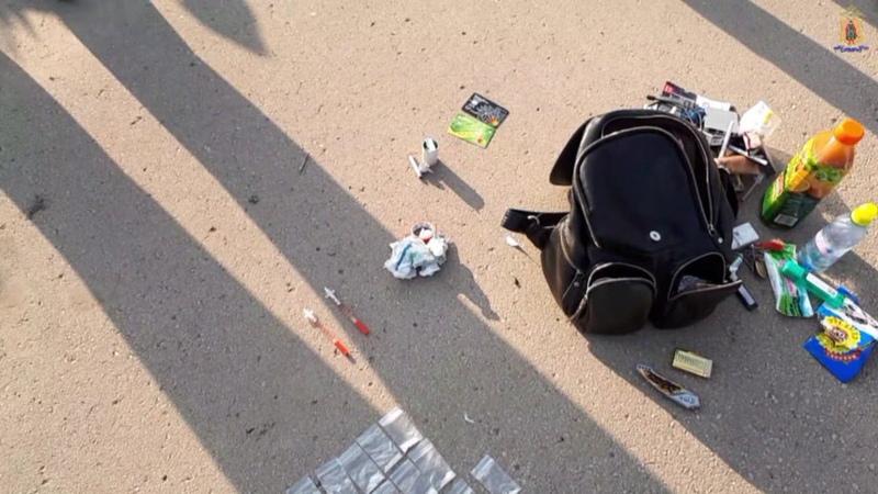 Рязанские полицейские задержали закладчика синтетических наркотиков