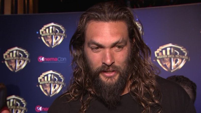 Momoa's Aquaman swims into Vegas