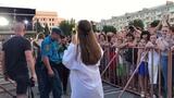 Юлия Беретта поздравила жителей города Луганска с Днем железнодорожника