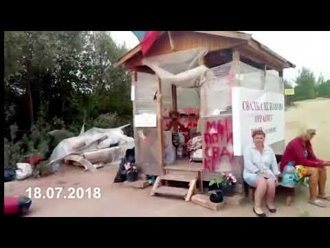 Голодовка 18.07.2018 Щелканово, Сычево