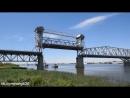 Как разводят Старый мост в Астрахани