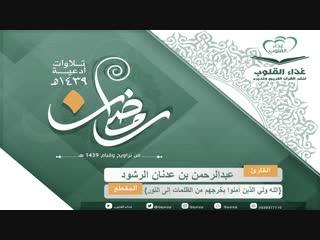القارئ عبدالرحمن الرشود { الله ولي الذين آمنوا }.mp4