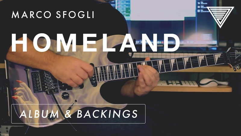 New Marco Sfogli's 'Homeland' Album Available With Backings TAB JTC Guitar