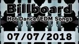 Billboard Hot DanceElectronicEDM Songs TOP 50 (July 7, 2018)