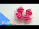 Laço Kanzashi Milea 🎀 Ribbon Bow 🎀 DIY by Elysia Handmade
