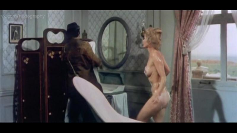 Карин Шуберт Karin Schubert голая в фильме Три мушкетера на Диком Западе Tutti per uno botte per tutti 1973