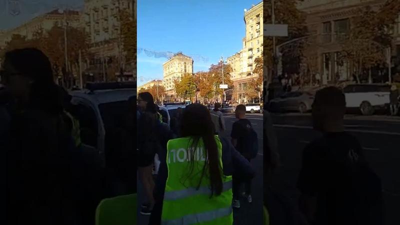 Арештували Семеніхіна на Хрещатику 14.10.2018.