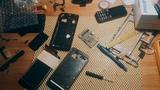 Philips Xenium W8510. Замена дисплея. Синий экран