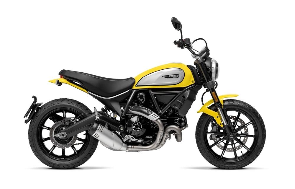 Новый мотоцикл Ducati Scrambler Icon 2019