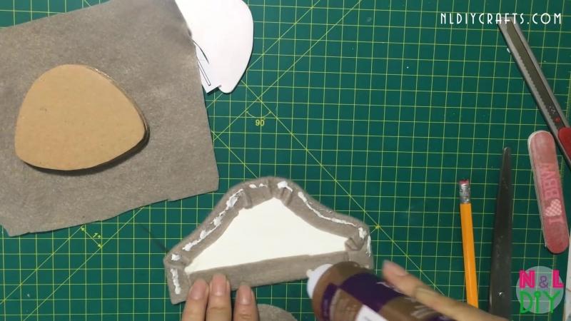 DIY Miniature Armchair and Coffee Table How to make an Armchair Coffee Table for Dollhouse