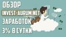 ОБЗОР INVEST-AURUM — ЗАРАБОТОК 3 В СУТКИ