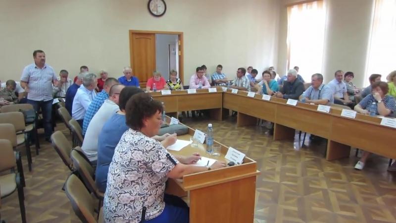 26 я сессия Совета депутатов Барабинского района