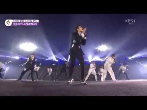 [HD]180902 - Super Junior - Sorry Sorry, Mr. Simple Bonamana - Asian Games 2018 Closing Ceremony