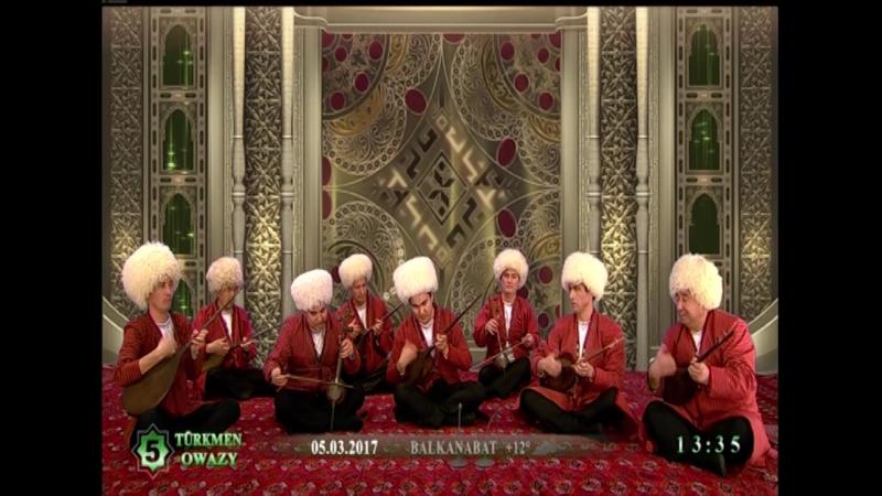 Batyr Ode - Saz Etsin (Turkmen Dutar)