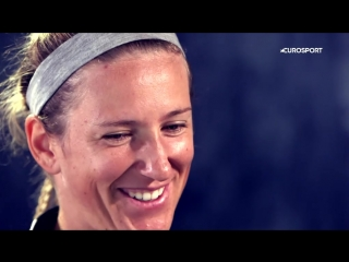 You realise theres much more to life - Victoria Azarenka discusses her comeback - French Open - Video Eurosport UK