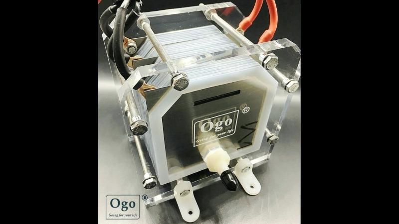 Электролизер с Алиэкспресс. Газ из воды. Газ для автомобиля. 12V - 36V 6A - 10A
