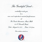 Grateful Dead альбом One From The Vault
