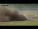 Авария Рене Раста. Первая гонка DTM на Лаузитцринге