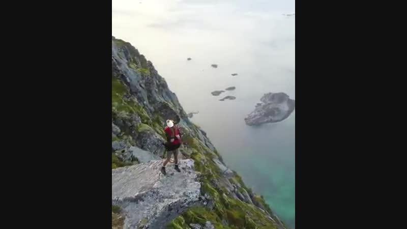 Предложение руки и сердца в Хеннингсвере Норвегия