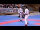 Мужское кумитэ до 75 кг Финал German Open 2018 Юсей Сакияма Япония Рафаэль