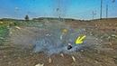 Что если взорвать ананас Тест мощных петард!
