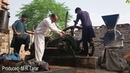 Black Diesel Engine making wheat flour China Stone Mills In Punjab