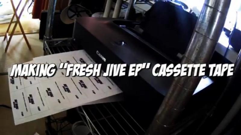 "MAKING FRESH JIVE EP"" CASSETTE TAPES"