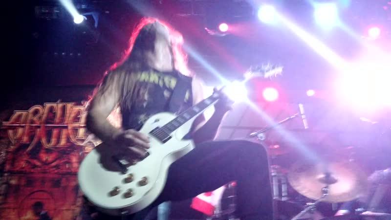 Archer - Tornado of Souls [ Live at Hard Club, Porto, PT - 09.09.2015 ]
