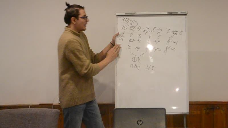 Лекция от г на ФРИО Вероятность развития событий в игре мафия часть 4