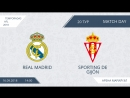 Обзор центрального матча 20го тура AFL Spain Yoshkar-Ola 2018 ][ Real Madrid- Sporting de Gijon