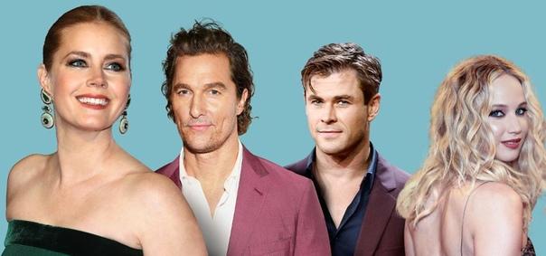 Forbes назвал самых переоценённых актёров и актрис года