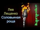 Лев Лещенко - Соловьиная роща ( караоке )
