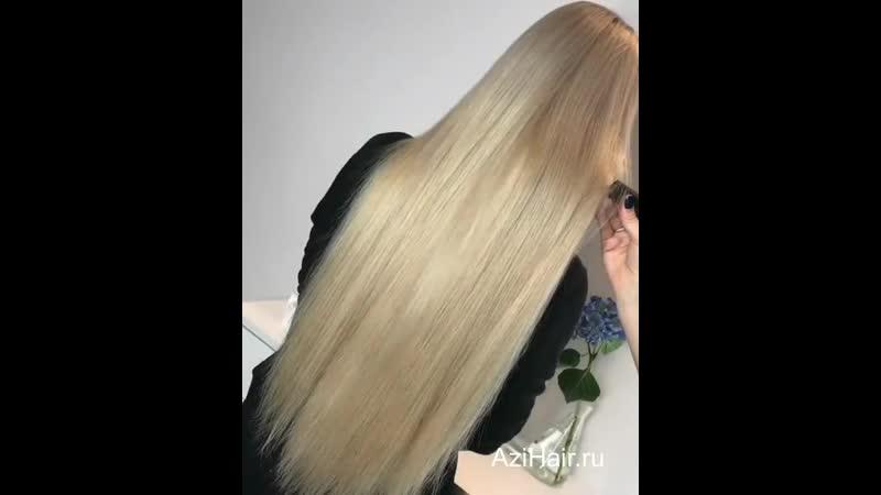 Наращивание волос Тюмень - Azi Hair