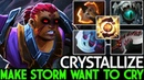 Crystallize Anti Mage Make Storm Want To Cry WTF Monster 7 19 Dota 2