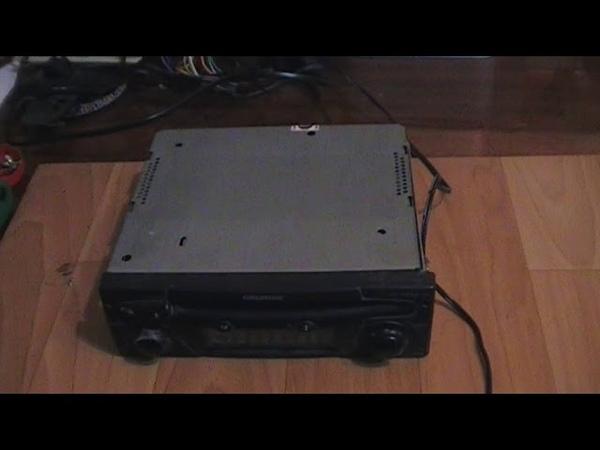 Ремонт автомагнитолы GRUNDIG EC 4290 CD