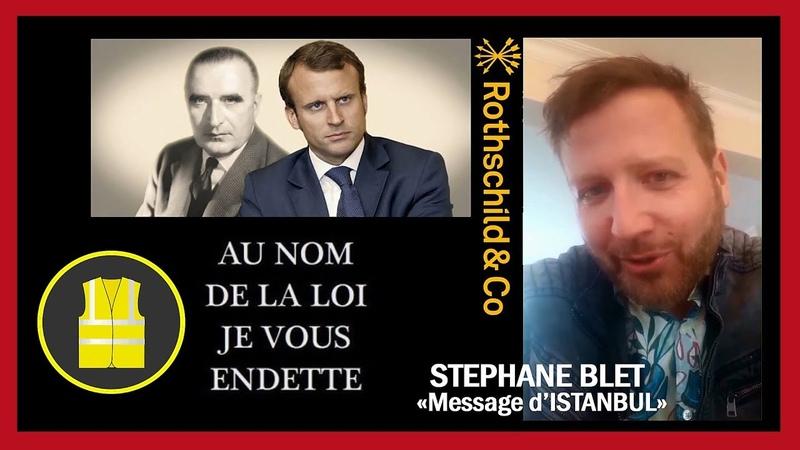 Gilets Jaunes...Stéphane Blet pense qu'ils sont entrain de sauver la France...(Hd 1080) Remix