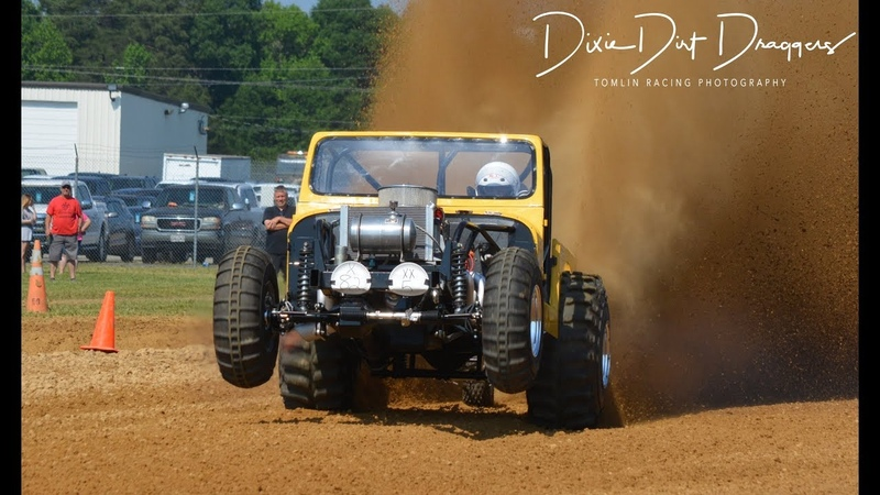 Mud Mayhem 2019 X Cut and Paddle tire Dragsters Virginia Motor Speedway