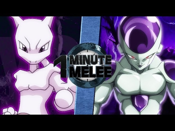 Mewtwo vs Frieza - One Minute Melee S5 EP14